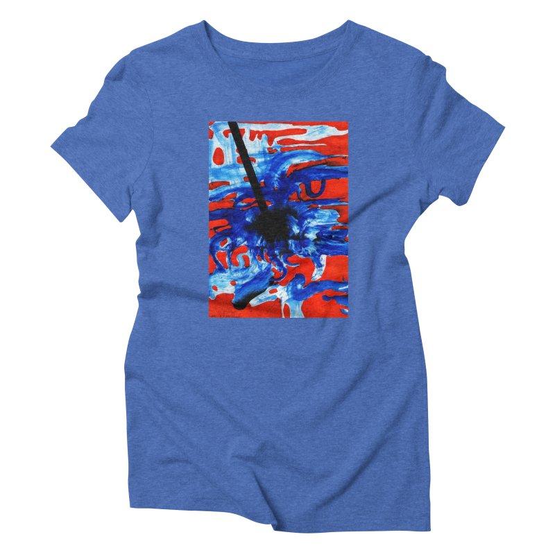 Drawing Blog No.2 - 1.3.09 Women's Triblend T-Shirt by schizo pop