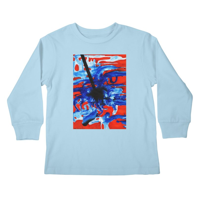 Drawing Blog No.2 - 1.3.09 Kids Longsleeve T-Shirt by schizo pop