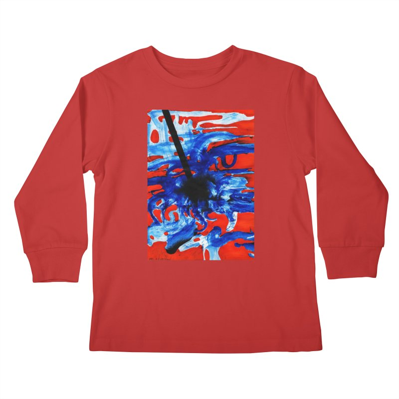 Drawing Blog No.2 - 1.3.09 Kids Longsleeve T-Shirt by schizo pop