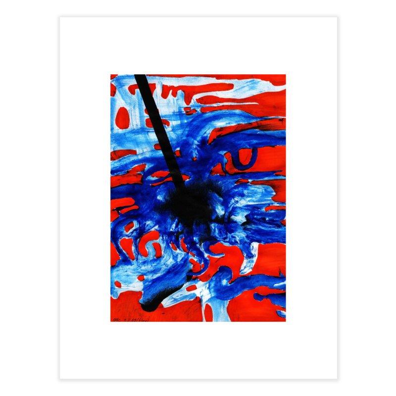 Drawing Blog No.2 - 1.3.09 Home Fine Art Print by schizo pop