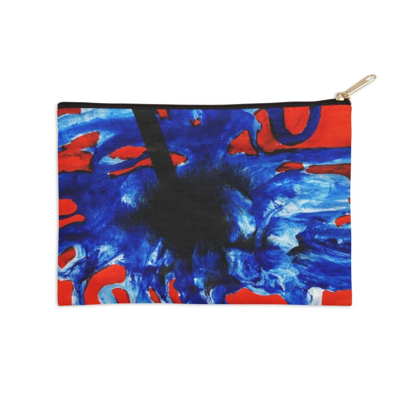 Drawing Blog No.2 - 1.3.09 Accessories Zip Pouch by schizo pop