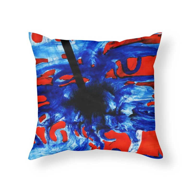 Drawing Blog No.2 - 1.3.09 Home Throw Pillow by schizo pop