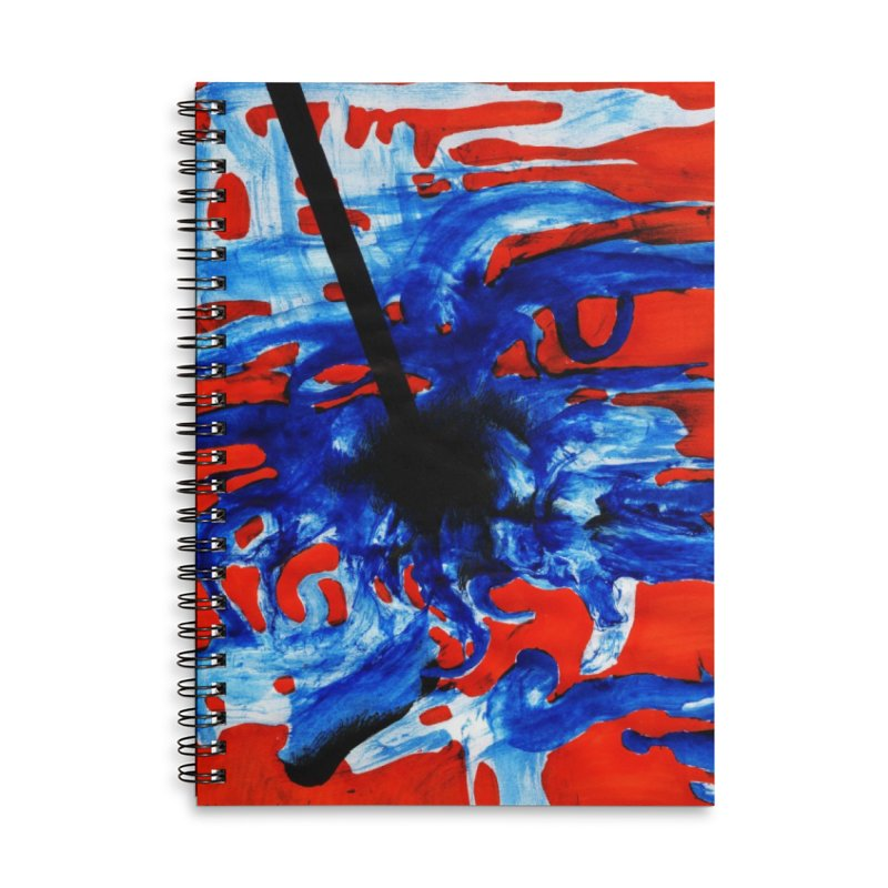Drawing Blog No.2 - 1.3.09 Accessories Lined Spiral Notebook by schizo pop