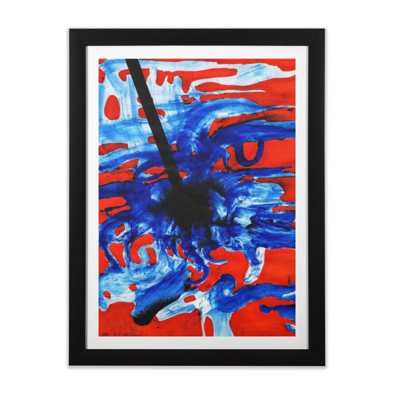 Drawing Blog No.2 - 1.3.09 Home Framed Fine Art Print by schizo pop