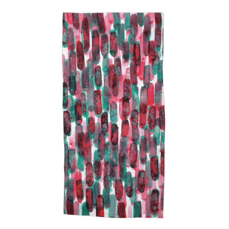 Drawing Blog No.5 - 8.3.14 Accessories Beach Towel by schizo pop