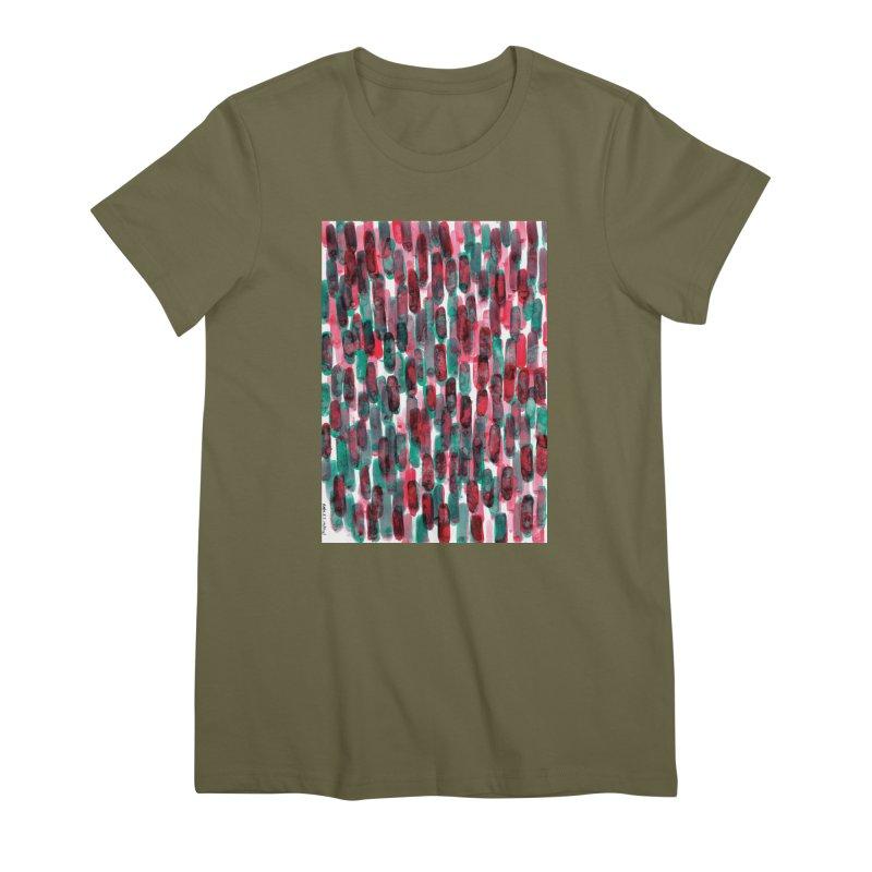 Drawing Blog No.5 - 8.3.14 Women's Premium T-Shirt by schizo pop