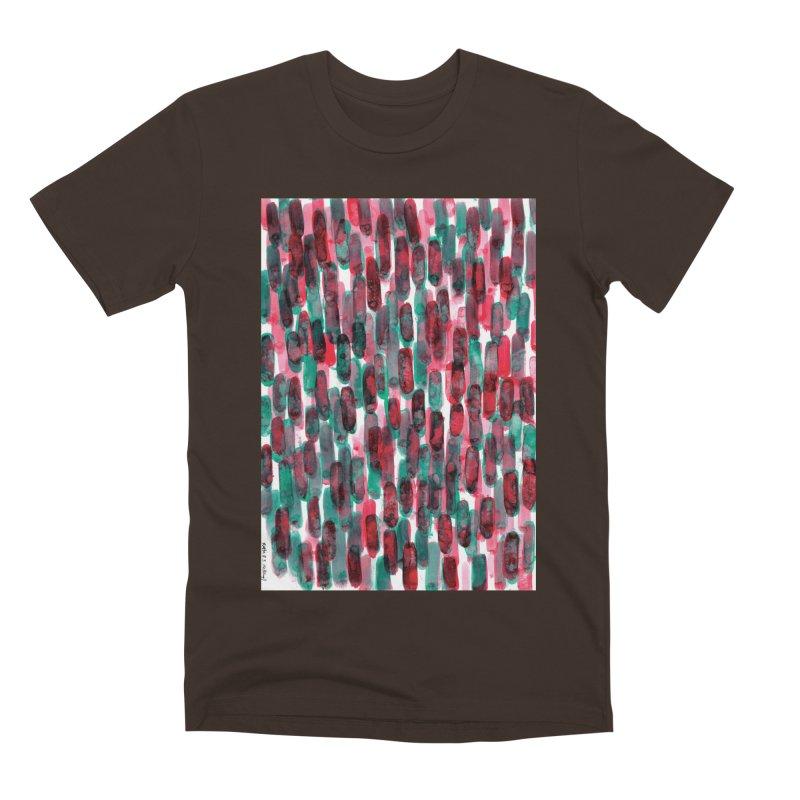Drawing Blog No.5 - 8.3.14 Men's Premium T-Shirt by schizo pop