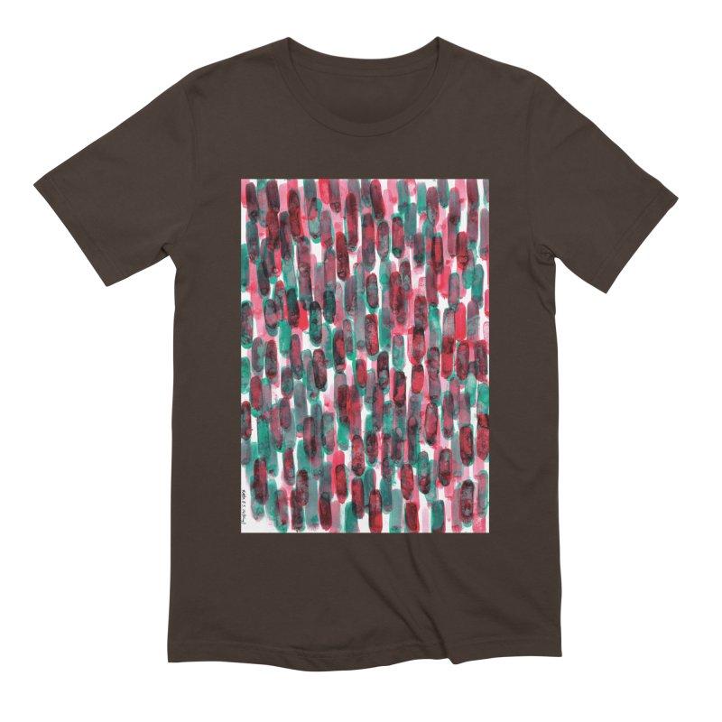 Drawing Blog No.5 - 8.3.14 Men's T-Shirt by schizo pop