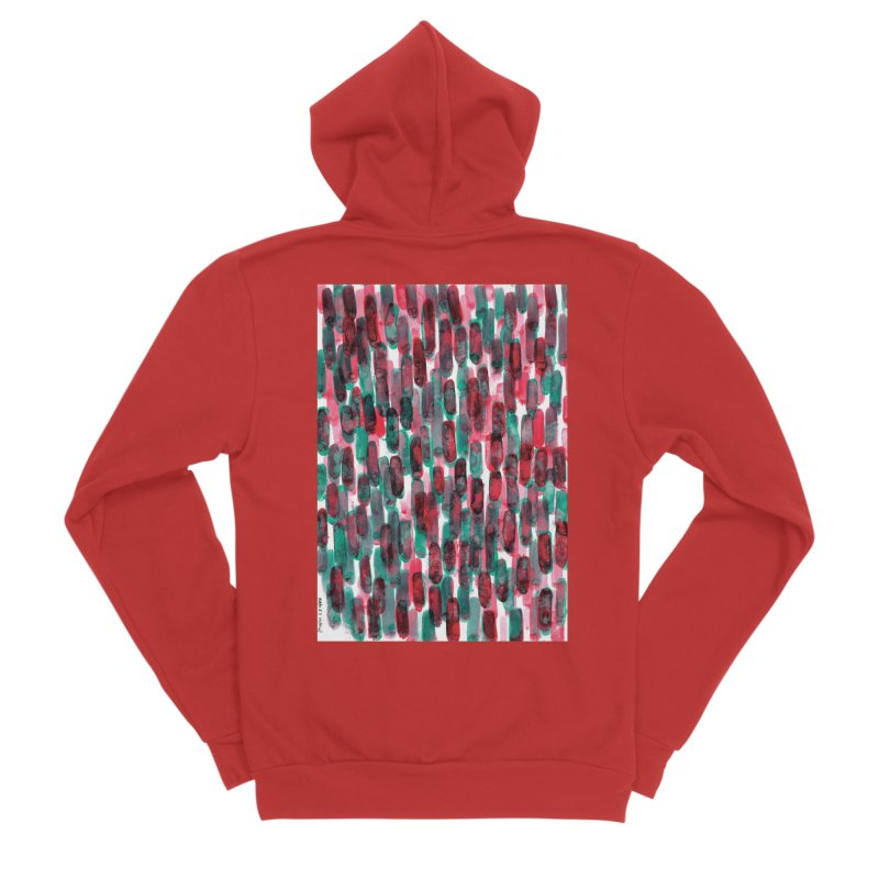Drawing Blog No.5 - 8.3.14 Women's Zip-Up Hoody by schizo pop