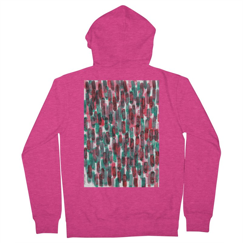 Drawing Blog No.5 - 8.3.14 Women's French Terry Zip-Up Hoody by schizo pop