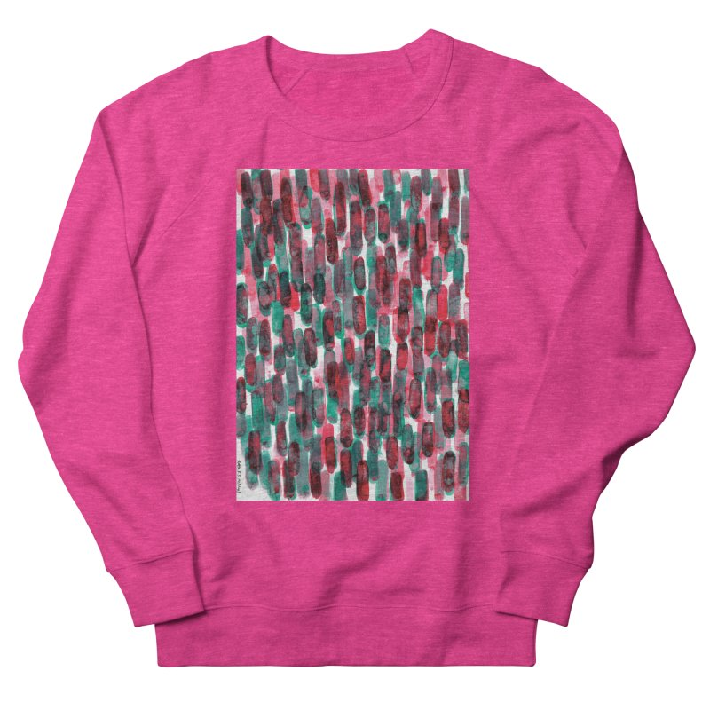 Drawing Blog No.5 - 8.3.14 Men's French Terry Sweatshirt by schizo pop