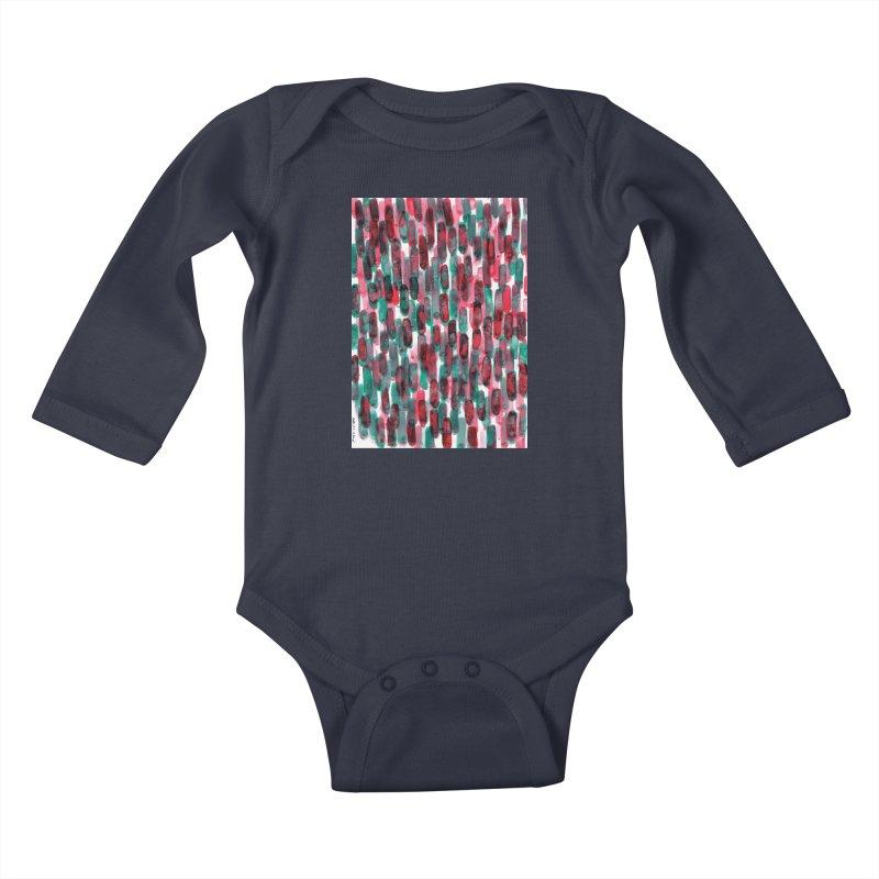 Drawing Blog No.5 - 8.3.14 Kids Baby Longsleeve Bodysuit by schizo pop