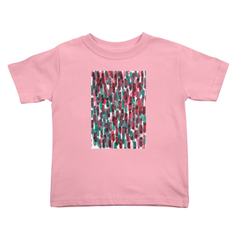 Drawing Blog No.5 - 8.3.14 Kids Toddler T-Shirt by schizo pop