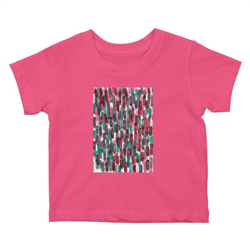 Drawing Blog No.5 - 8.3.14 Kids Baby T-Shirt by schizo pop