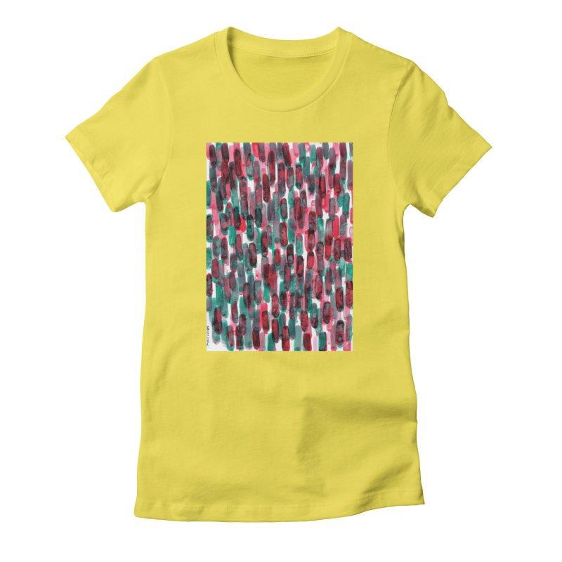 Drawing Blog No.5 - 8.3.14 Women's T-Shirt by schizo pop