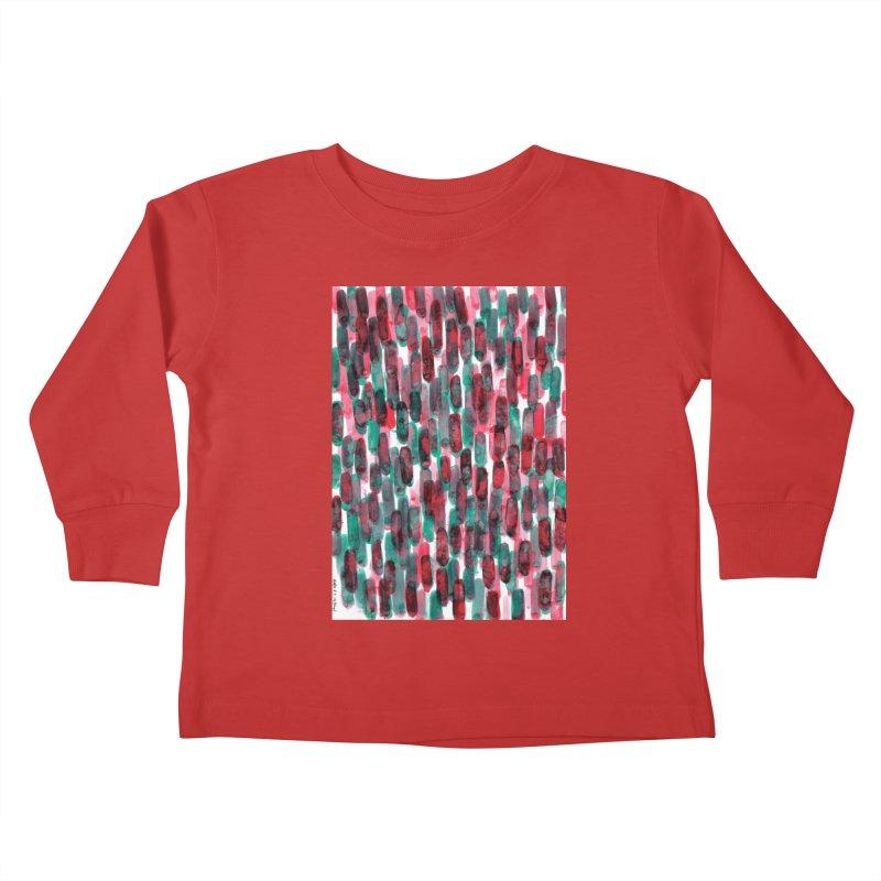 Drawing Blog No.5 - 8.3.14 Kids Toddler Longsleeve T-Shirt by schizo pop