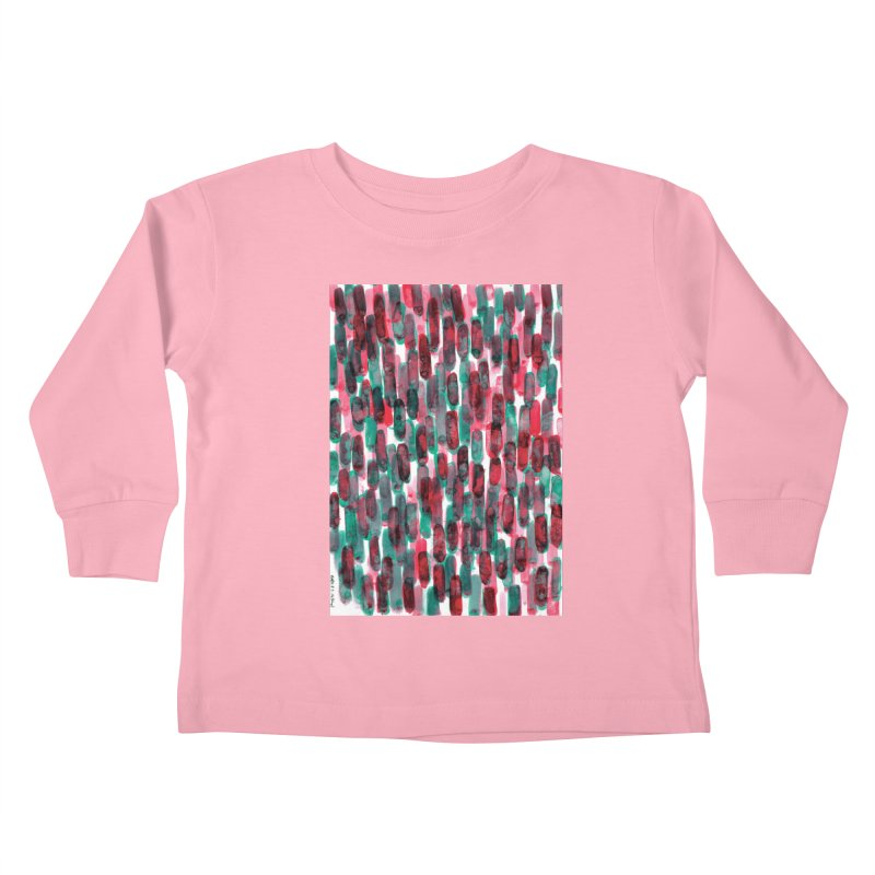 Drawing Blog No.5 - 8.3.14 Kids Toddler Longsleeve T-Shirt by schizo pop