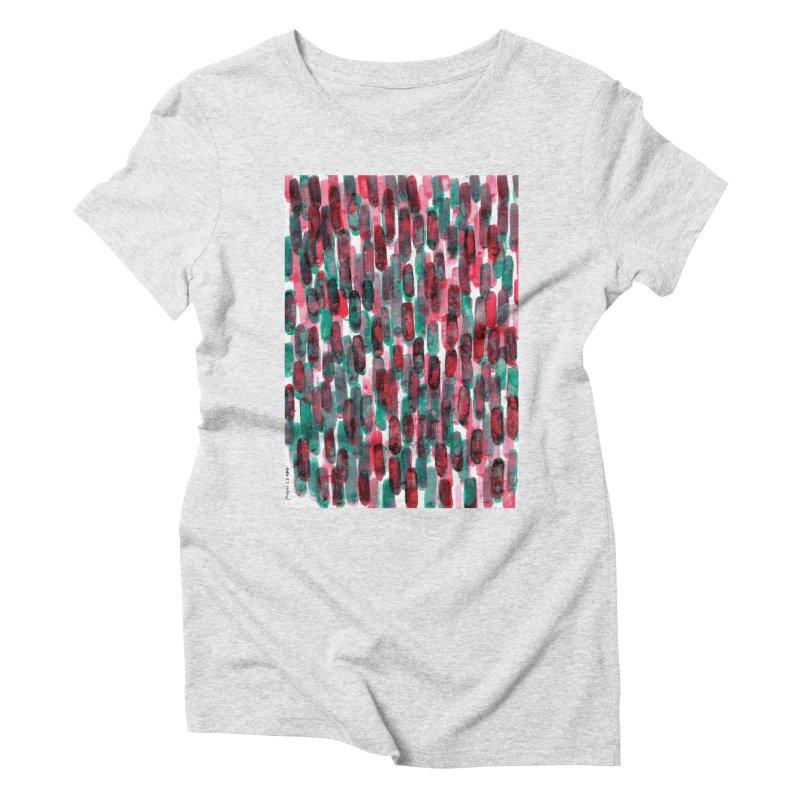 Drawing Blog No.5 - 8.3.14 Women's Triblend T-Shirt by schizo pop