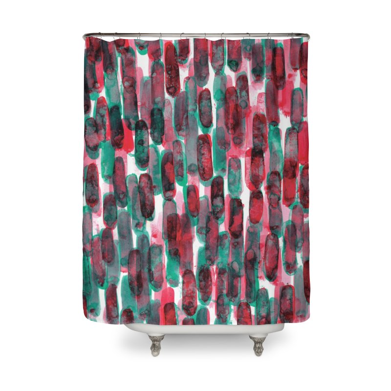 Drawing Blog No.5 - 8.3.14 Home Shower Curtain by schizo pop