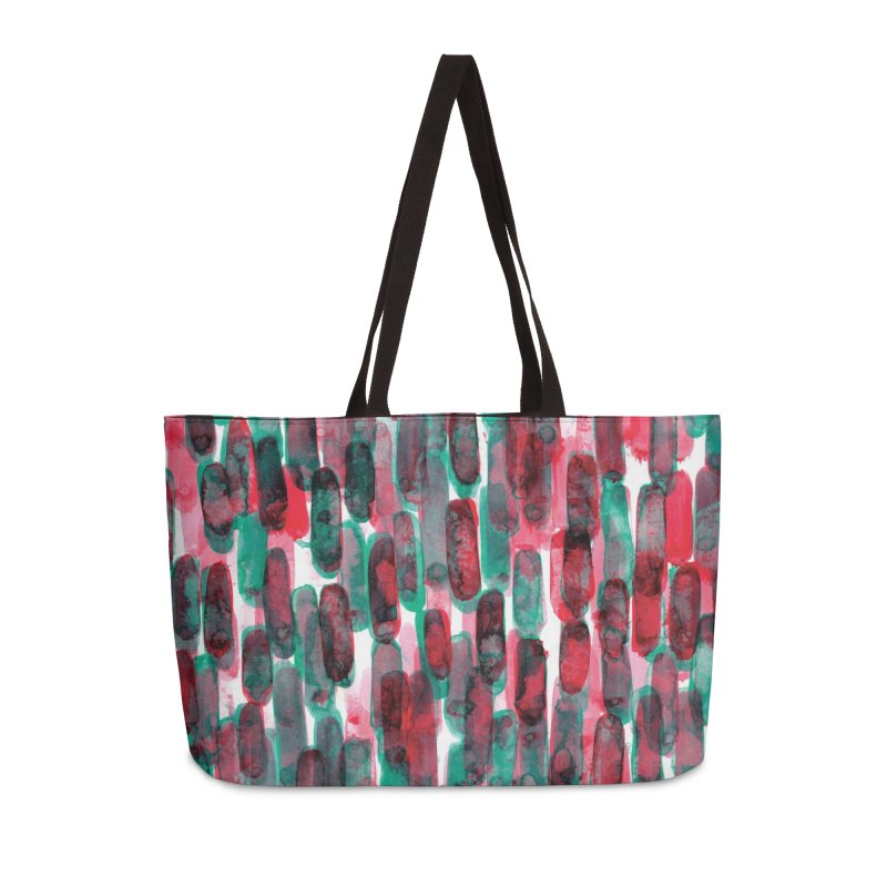 Drawing Blog No.5 - 8.3.14 Accessories Weekender Bag Bag by schizo pop