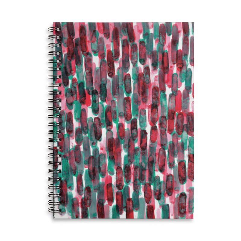 Drawing Blog No.5 - 8.3.14 Accessories Lined Spiral Notebook by schizo pop