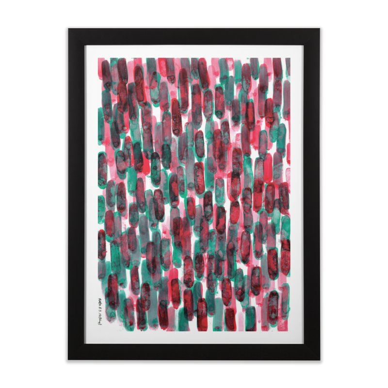 Drawing Blog No.5 - 8.3.14 Home Framed Fine Art Print by schizo pop
