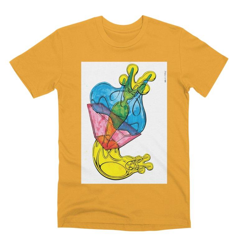 Drawing Blog No.5 - 12.1.14 Men's Premium T-Shirt by schizo pop