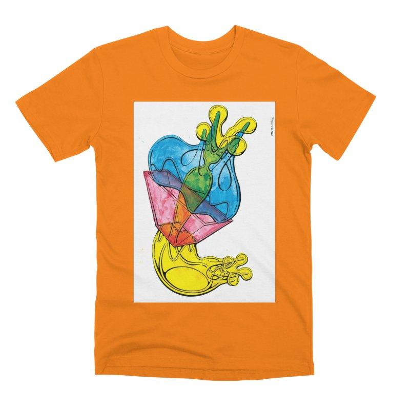 Drawing Blog No.5 - 12.1.14 Men's T-Shirt by schizo pop