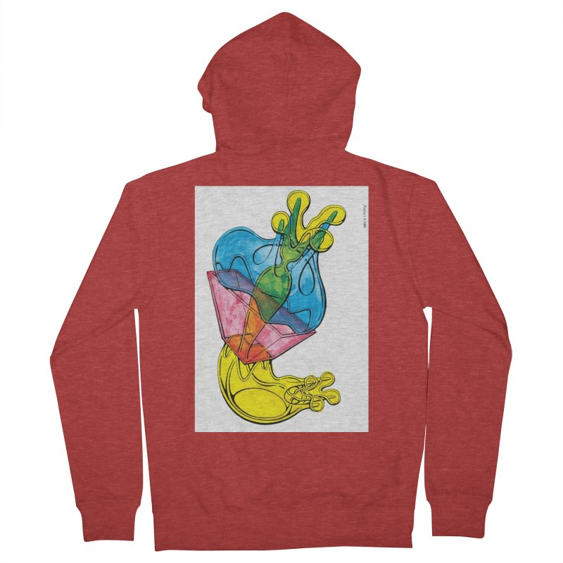 Drawing Blog No.5 - 12.1.14 Women's French Terry Zip-Up Hoody by schizo pop