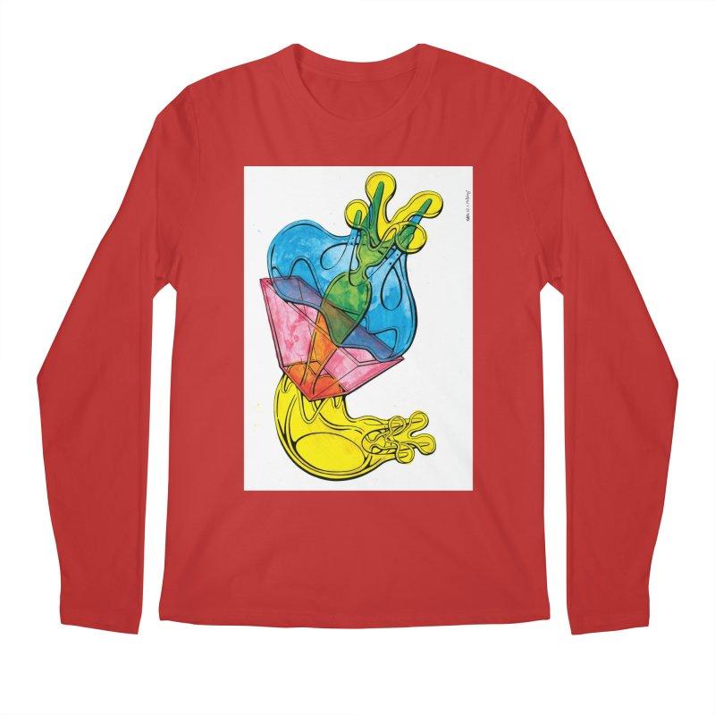 Drawing Blog No.5 - 12.1.14 Men's Regular Longsleeve T-Shirt by schizo pop
