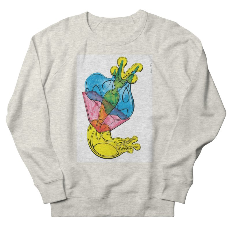 Drawing Blog No.5 - 12.1.14 Women's French Terry Sweatshirt by schizo pop
