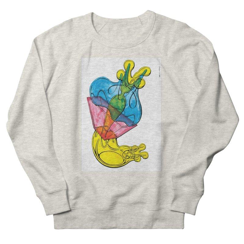 Drawing Blog No.5 - 12.1.14 Men's French Terry Sweatshirt by schizo pop