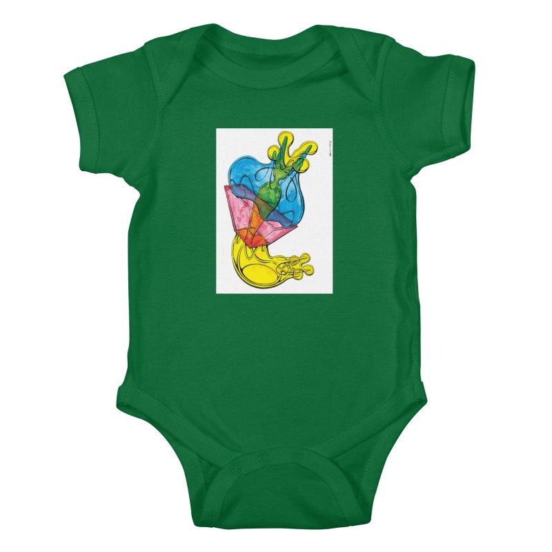 Drawing Blog No.5 - 12.1.14 Kids Baby Bodysuit by schizo pop