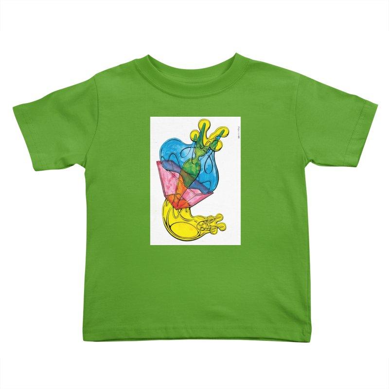 Drawing Blog No.5 - 12.1.14 Kids Toddler T-Shirt by schizo pop