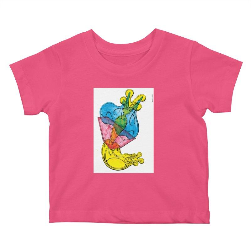 Drawing Blog No.5 - 12.1.14 Kids Baby T-Shirt by schizo pop