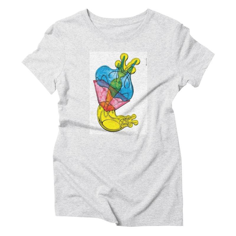 Drawing Blog No.5 - 12.1.14 Women's T-Shirt by schizo pop