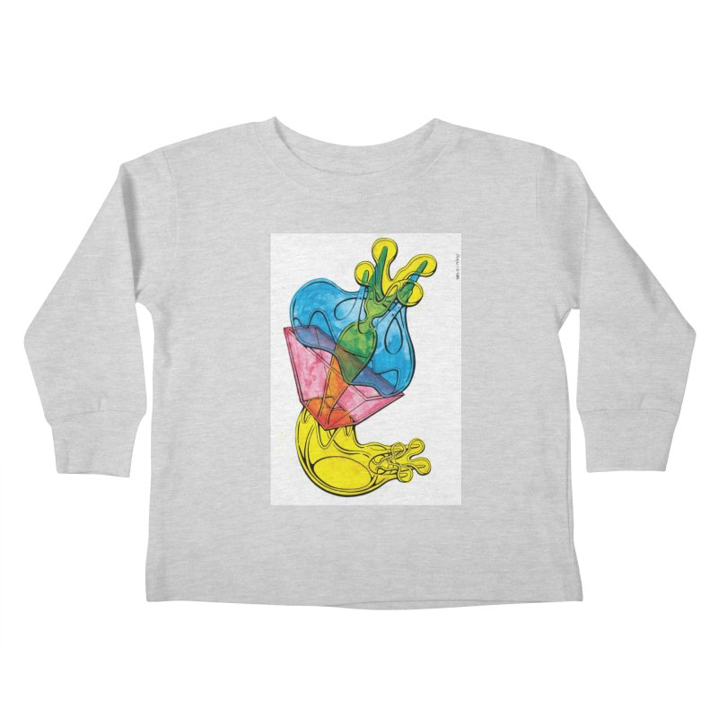 Drawing Blog No.5 - 12.1.14 Kids Toddler Longsleeve T-Shirt by schizo pop