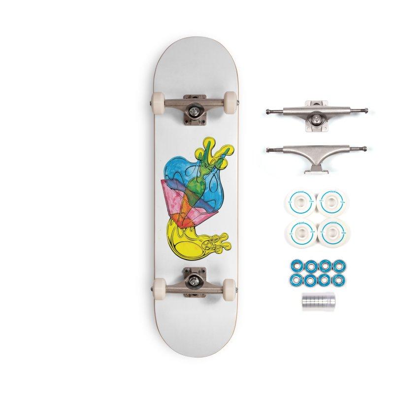 Drawing Blog No.5 - 12.1.14 Accessories Skateboard by schizo pop