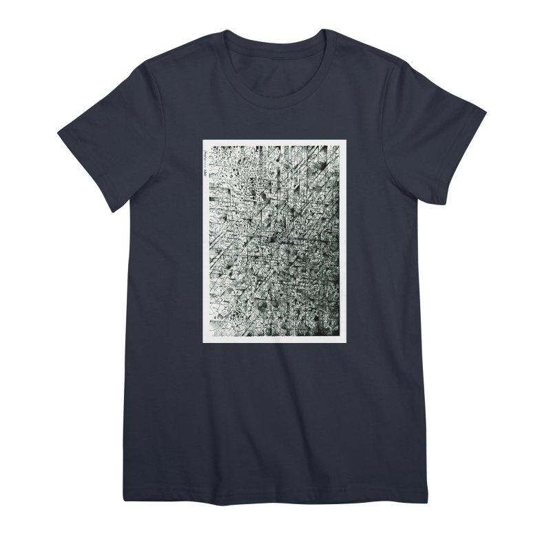 Drawing Blog No.5 - 11.11.13 Women's Premium T-Shirt by schizo pop