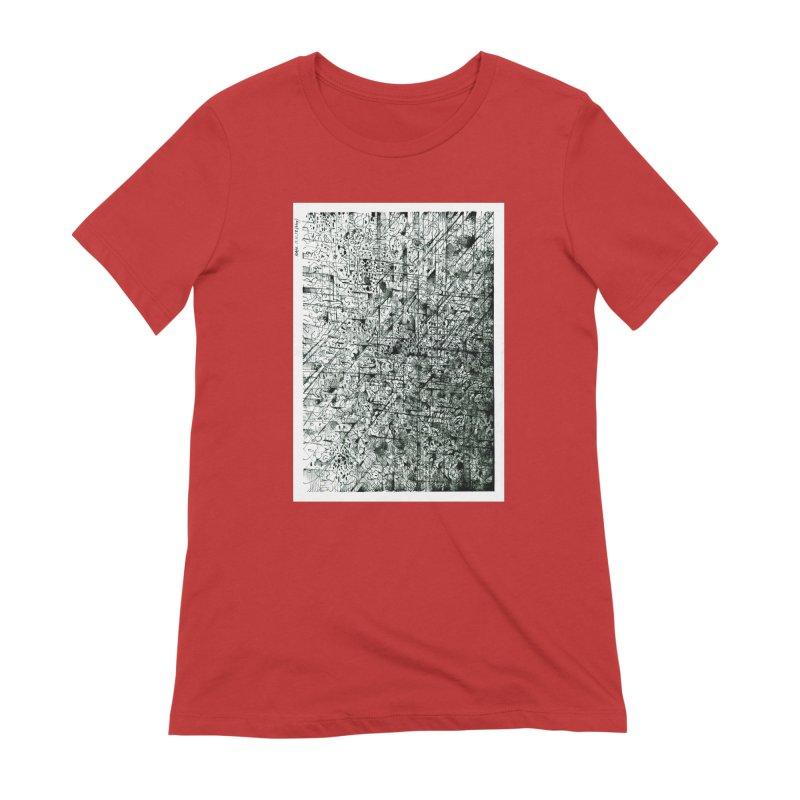 Drawing Blog No.5 - 11.11.13 Women's Extra Soft T-Shirt by schizo pop
