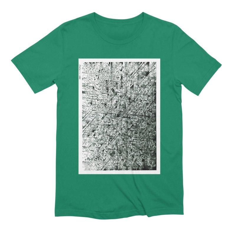 Drawing Blog No.5 - 11.11.13 Men's Extra Soft T-Shirt by schizo pop