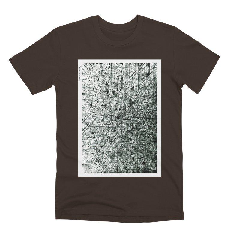 Drawing Blog No.5 - 11.11.13 Men's Premium T-Shirt by schizo pop