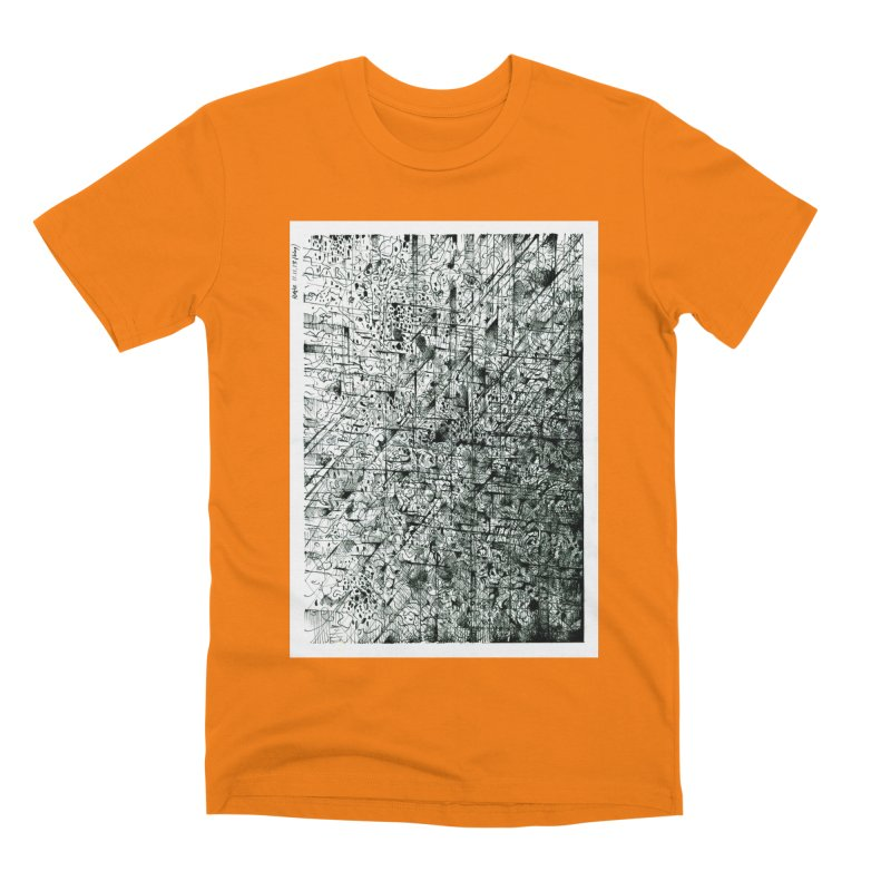 Drawing Blog No.5 - 11.11.13 Men's T-Shirt by schizo pop