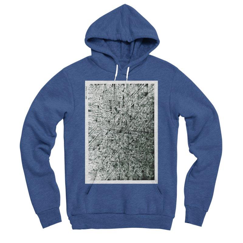 Drawing Blog No.5 - 11.11.13 Men's Sponge Fleece Pullover Hoody by schizo pop