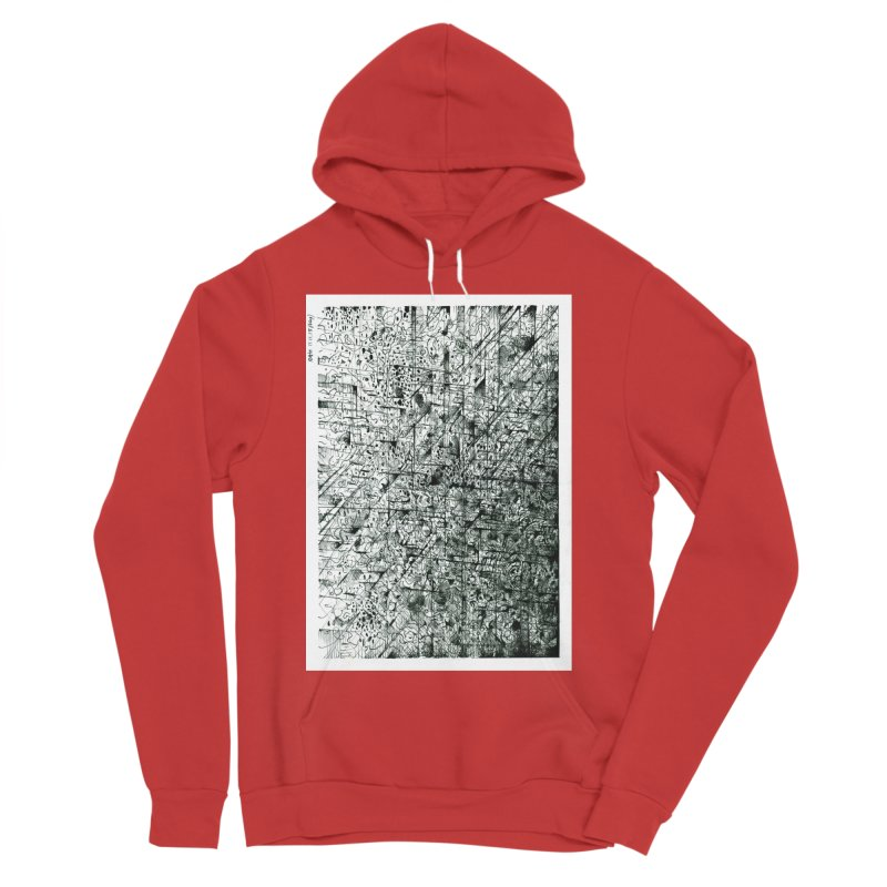 Drawing Blog No.5 - 11.11.13 Women's Sponge Fleece Pullover Hoody by schizo pop