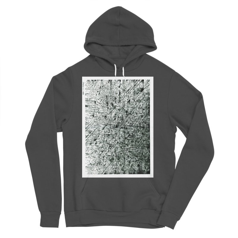 Drawing Blog No.5 - 11.11.13 Men's Sponge Fleece Pullover Hoody by schizo pop