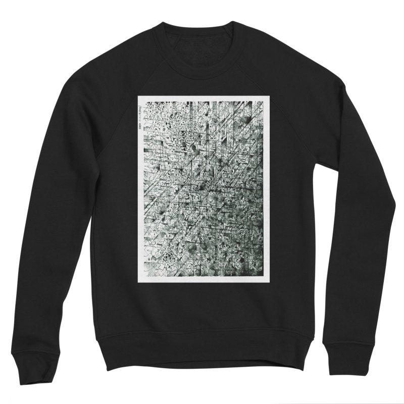 Drawing Blog No.5 - 11.11.13 Men's Sponge Fleece Sweatshirt by schizo pop