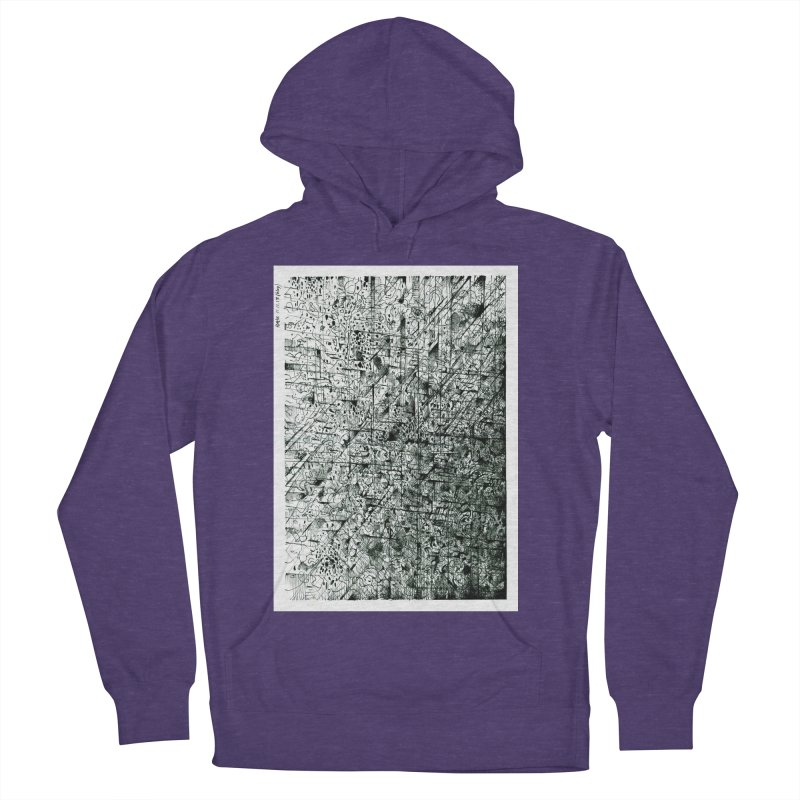 Drawing Blog No.5 - 11.11.13 Women's French Terry Pullover Hoody by schizo pop