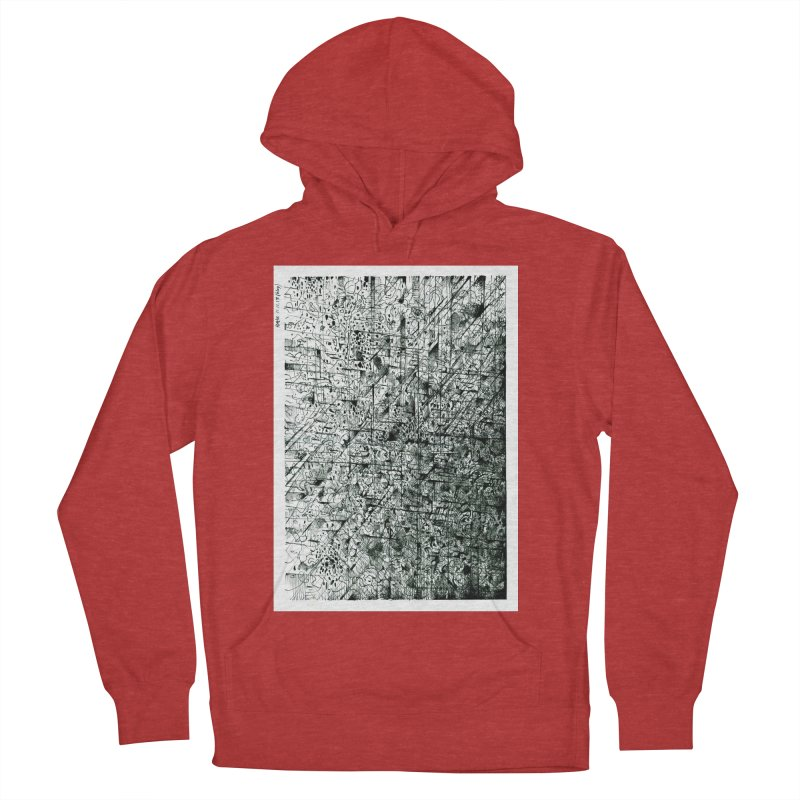 Drawing Blog No.5 - 11.11.13 Men's French Terry Pullover Hoody by schizo pop