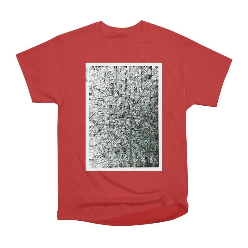 Drawing Blog No.5 - 11.11.13 Men's Heavyweight T-Shirt by schizo pop
